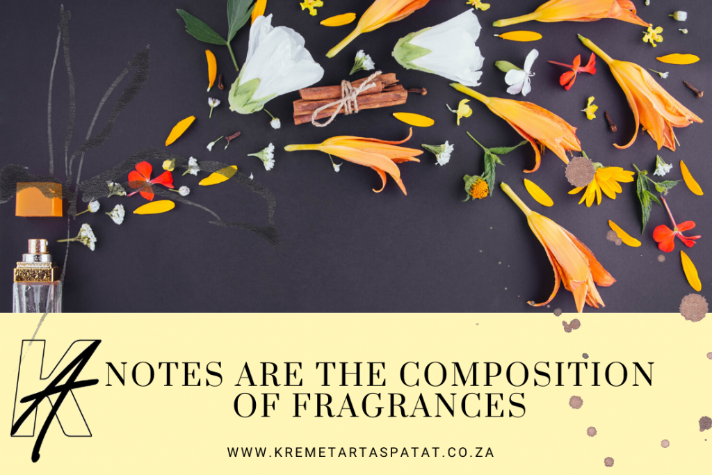 Notes are the composition of fragrances (1)