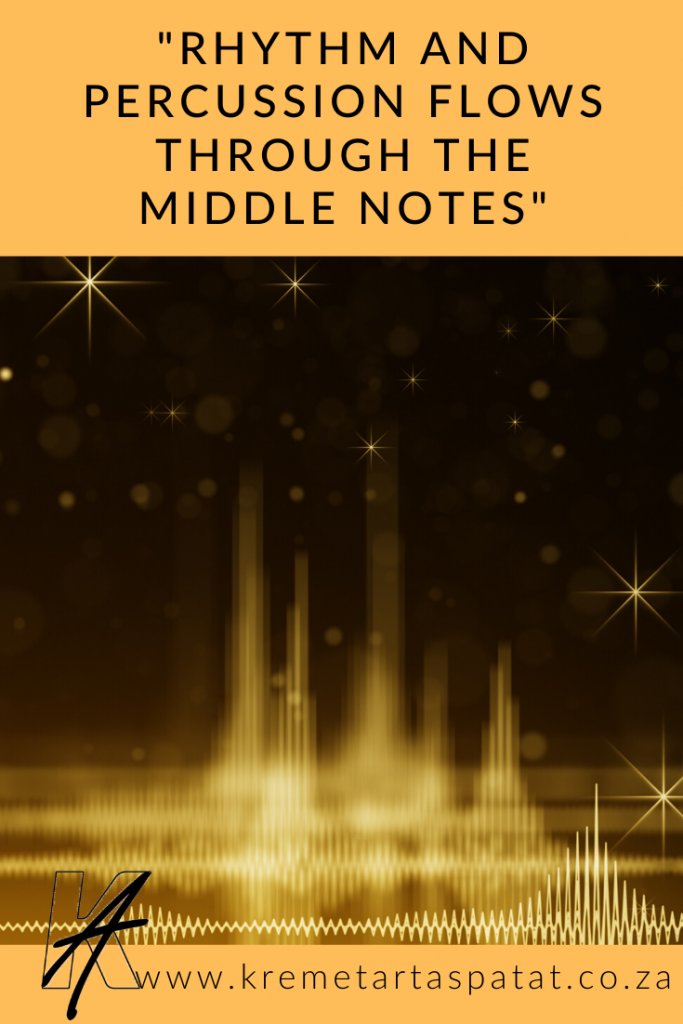 Rhythm and percussion in middle notes